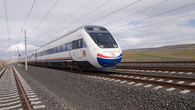 انقرة اسطنبول قطار السرعة