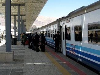 την Άγκυρα για να ξεκινήσει το τρένο προς την Τεχεράνη