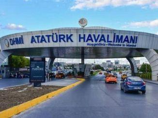 некоторые дороги в аэропорту Ататюрка будут закрыты