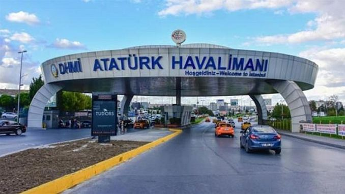 some roads in ataturk airport will be closed