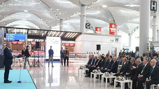 turhan ataturk about the move of the airport said
