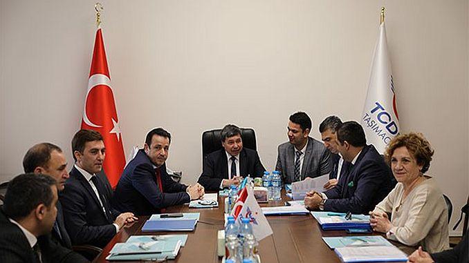 Baku Tiflis se prepara para llevar pasajeros.
