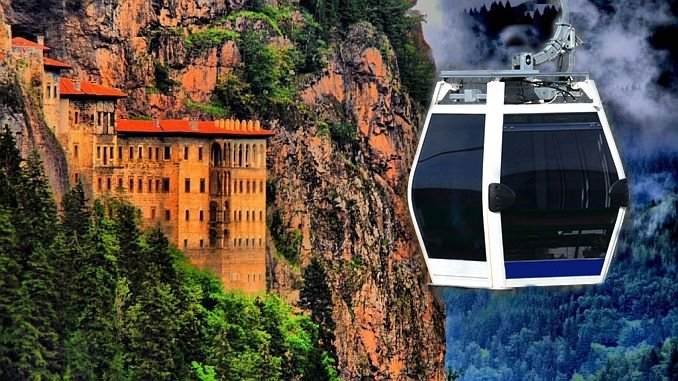 has a project of sumela ropeway in the gundem