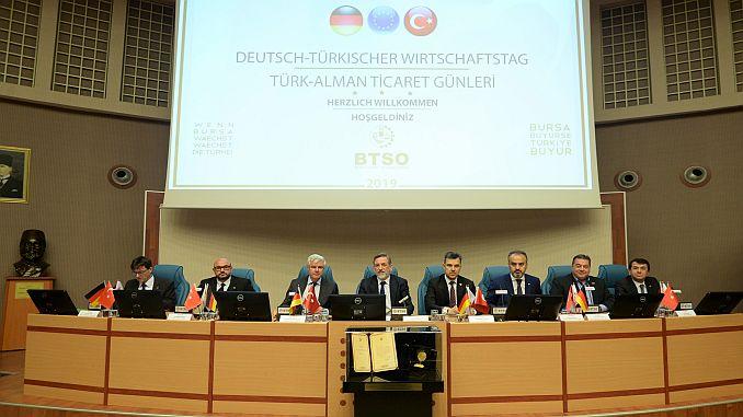 btso turk alman ticaret gunlerine ev sahipligi yapti