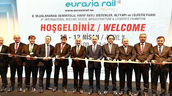 Feria del sector ferroviario fue encontrada en izmir