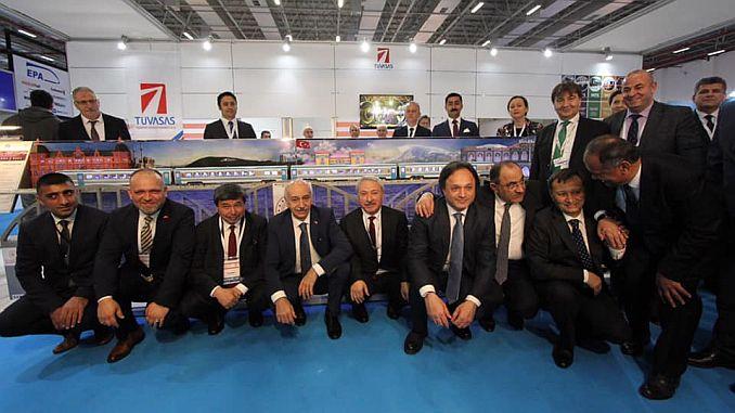 intense interest in tuvasasin standina at eurasia rail