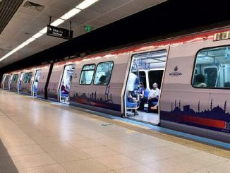 Состояние метро аэропорта Гайреттеп Стамбул