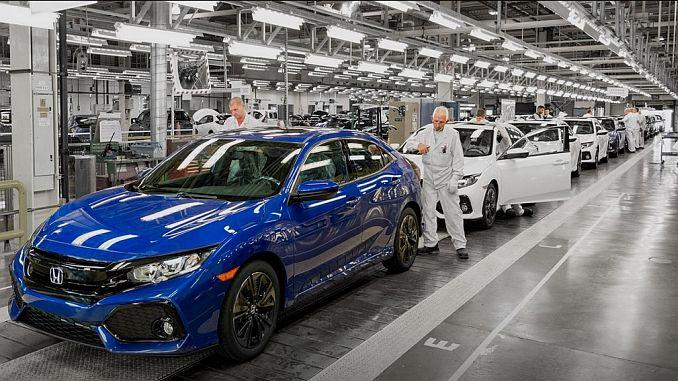Honda también detiene las producciones de pavo