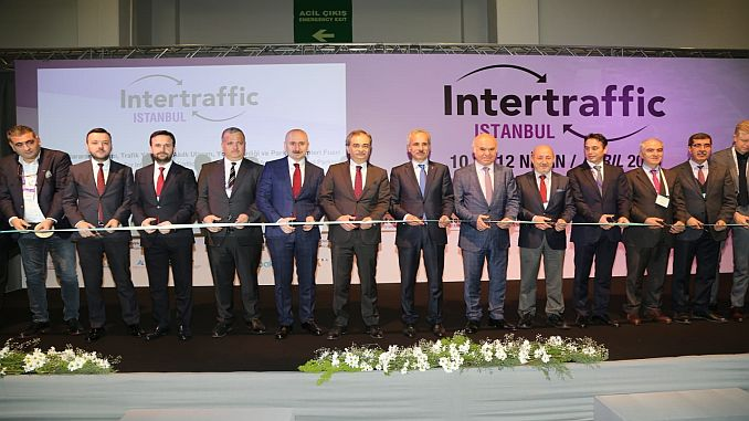 intertraffic istanbul fair organized with the contributions of ibb
