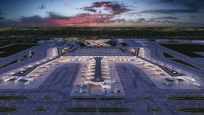 El aeropuerto de Estambul se detiene en el aeropuerto