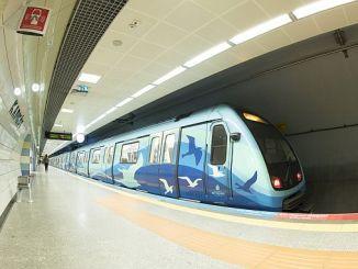 tunnelbanan i Istanbul