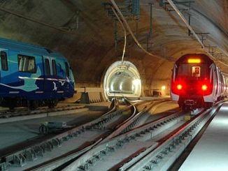 Μετρό τραμ και finikuler γραμμές στην Κωνσταντινούπολη