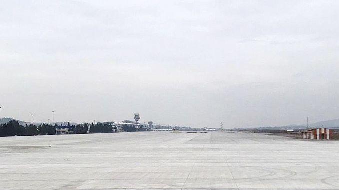 Última situación en el aeropuerto de Izmir Adnan Menderes.