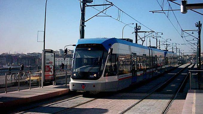 kabatas bagcilar tramvay hattinda yeni rekor