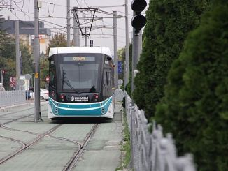 kurucesme tramvay hatti icin yeni alt gecit