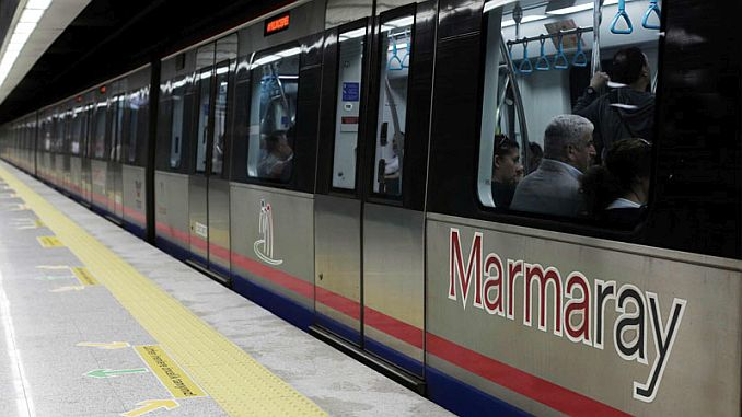 marmaray will use caution sogutlucesme station for passenger use