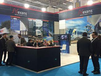 nexans eurasia rail at the fair