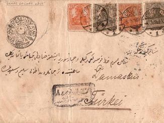 ottoman railways mail history