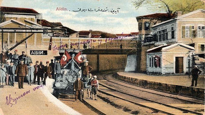 تاريخ البريد العثماني للسكك الحديدية