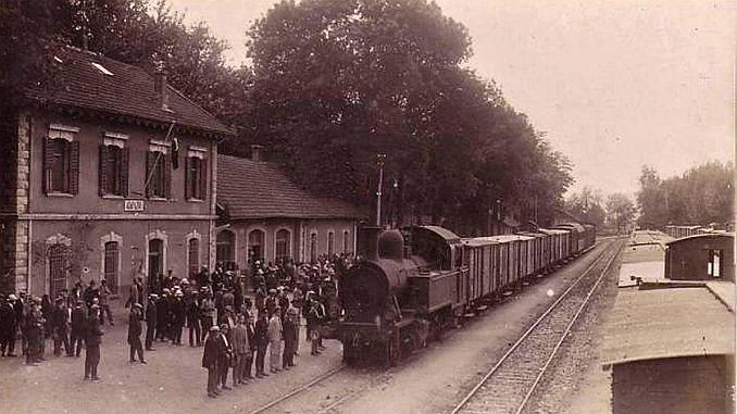 spoorvervoer in het Ottomaanse rijk