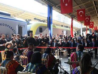 поезд социального кооператива начал второй рейс со станции Сиркечи