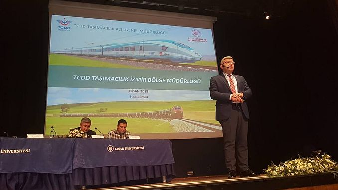 tcdd yasar universityite attended the panel of logistics