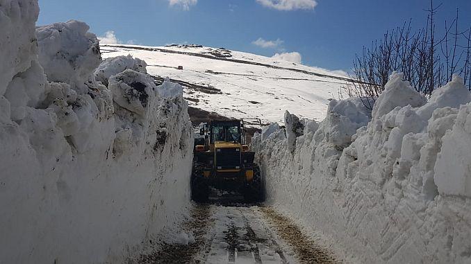 Plateau-Zufahrtsstraßen in Trabzon