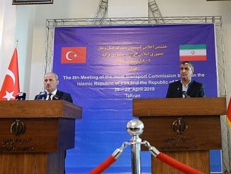 Der Transport zwischen dem Gebiet der iran Truthahn wurde Absichtserklärung unterzeichnet