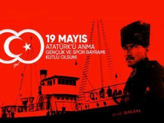 mayis ataturku memorial young and happy holiday