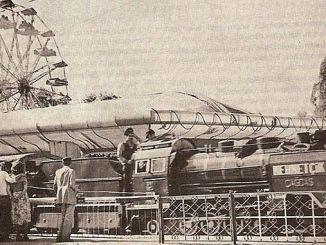 Minijaturni vlak u Ankari Genclik Parkinda