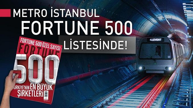 Metro Istanbul Entered Fortune List