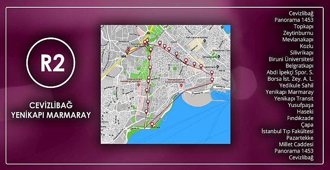 R Cevizlibag Yenikapı Marmaray