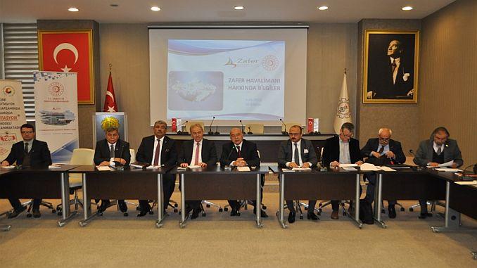 ظفر ہوائی اڈے کی منظوری کا اجلاس