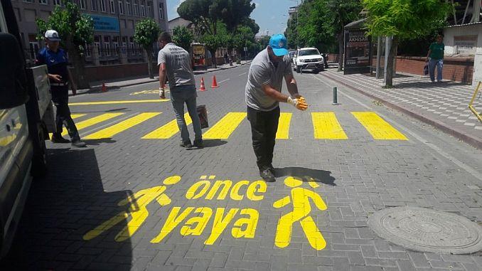 Pješačka praksa prije akhisarin cesta