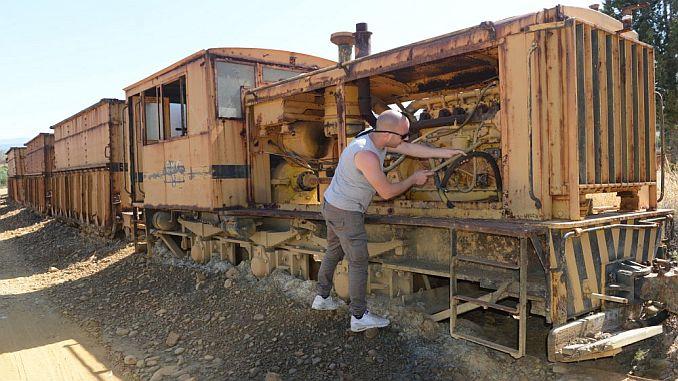 vagnar och lokomotiv i transit