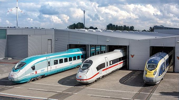 ще вземем комплектите за бързи влакове от Германия