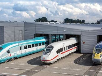 nous allons prendre les trains rapides de l'Allemagne