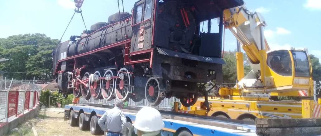 the historic black train of balikesirin was sent to manisa