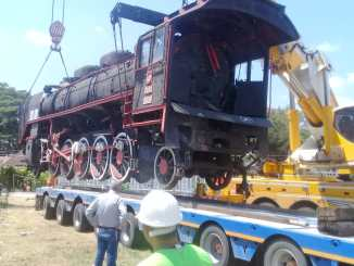 El histórico tren negro de balikesirin fue enviado a manisa.