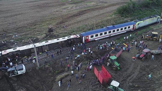 corlu train faciasi course area ministry tcddye date warning
