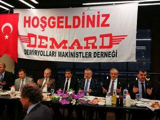 التقى الطلب على السكك الحديدية أنقرة من أنقرة
