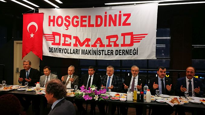 railroaders demard met the ankara of the ankara