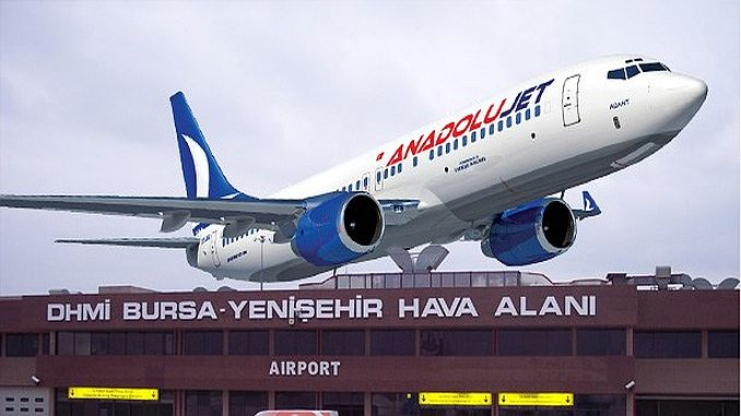 dubai yenisehir first flight in Turkey