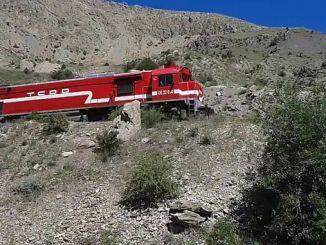 наводнения в Эрзинджане отменили поезда