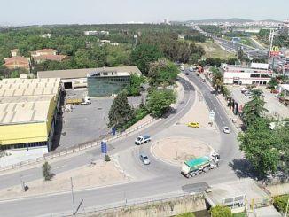 Gebze ha renovado la calle Bayramoglu.