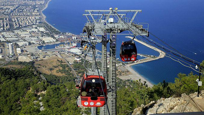 Проект канатной дороги Гереде для технической поездки в Анталию