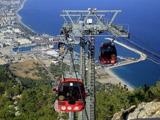 gerede ropeway verkefni fyrir Antalya tæknilega ferð