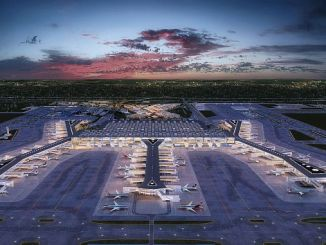 Istanbul luchthaven naar internationale odul