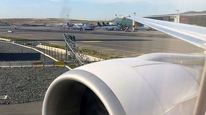 Istanbul airport accident