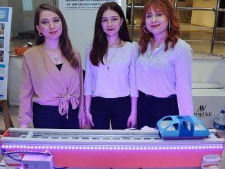 Koude exhibió proyecto de tren maglev de gran interés.
